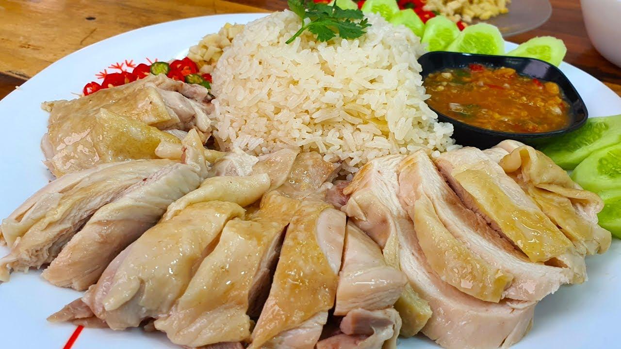 ข้าวมันไก่ สูตรทำง่าย น้ำจิ้มแซ่บเว่อร์ เนื้อไก่นุ่มเด้งหนังวาวทำง่ายนิดเดียว ข้าวหอมนุ่มชวนหิว