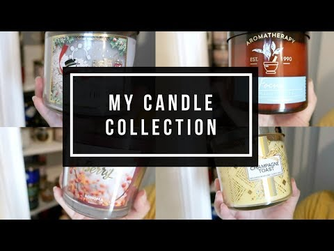 MY CANDLE COLLECTION // BATH & BODY WORKS + MORE | 60+ CANDLES