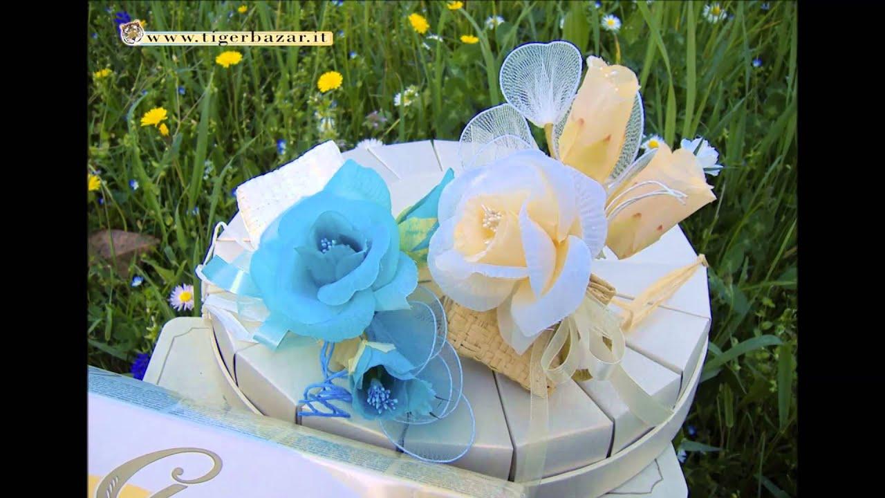 Estremamente Segnaposto matrimonio Battesimo Comunione e confetti Swing - YouTube JP53