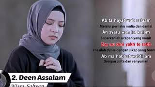 Video Sholawat merdu bikin hati tenang Nissa Sabiyan full Lirik download MP3, 3GP, MP4, WEBM, AVI, FLV November 2018