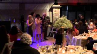 Flash Mob Sings One Day More At Wedding For Bride Who Loves Les Miserable