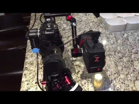 New Canon C100 Camera Shoulder Mount Documentary Rig (Zacuto/Teradek/Sennheiser)