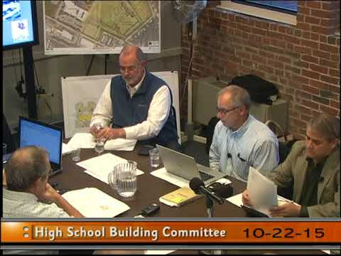 Stoughton High Building Committee 10-22-15