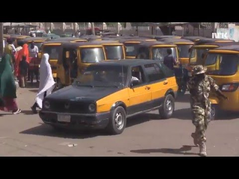 Urix tar Taxi i Maiduguri
