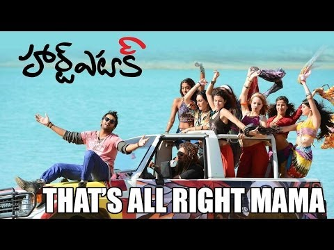 Heart Attack - Thats Alrite Mama Full HD Video Song | Nithiin , Adah Sharma , Puri Jagannadh