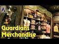 The Collector's Warehouse gift shop inside Guardians of the Galaxy - Mission: Breakout!