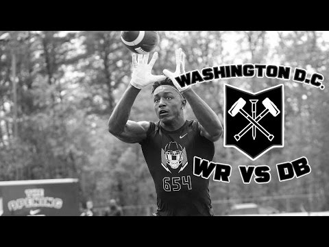 Nike Football's The Opening Washington D.C. 2017 | WR vs DB