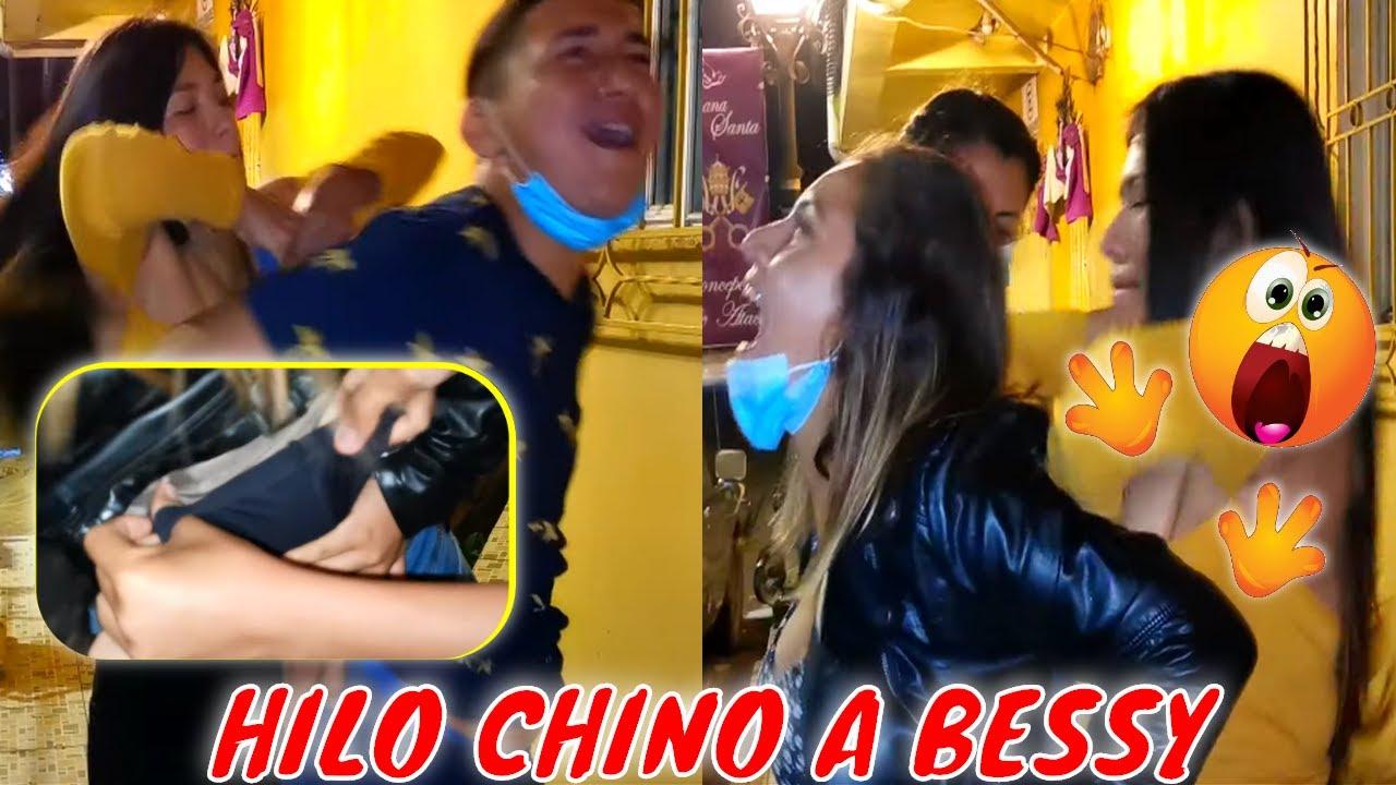 DIVERTIDISIMO! TATY HACE CALZ0N CHINO A NANO Y BESSY🤣 Pero Nano se VENG0 y lo disfrutó😯 Parte 2