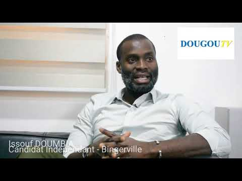 Bingerville - Issouf DOUMBIA le Candidat Indépendant aux élections Municipales s'exprime
