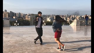 Лезгинка C Азербайджанкой (Баку) 2019 Девушка Танцует Ласково ALISHKA FIDUW SHAKO EFENDI