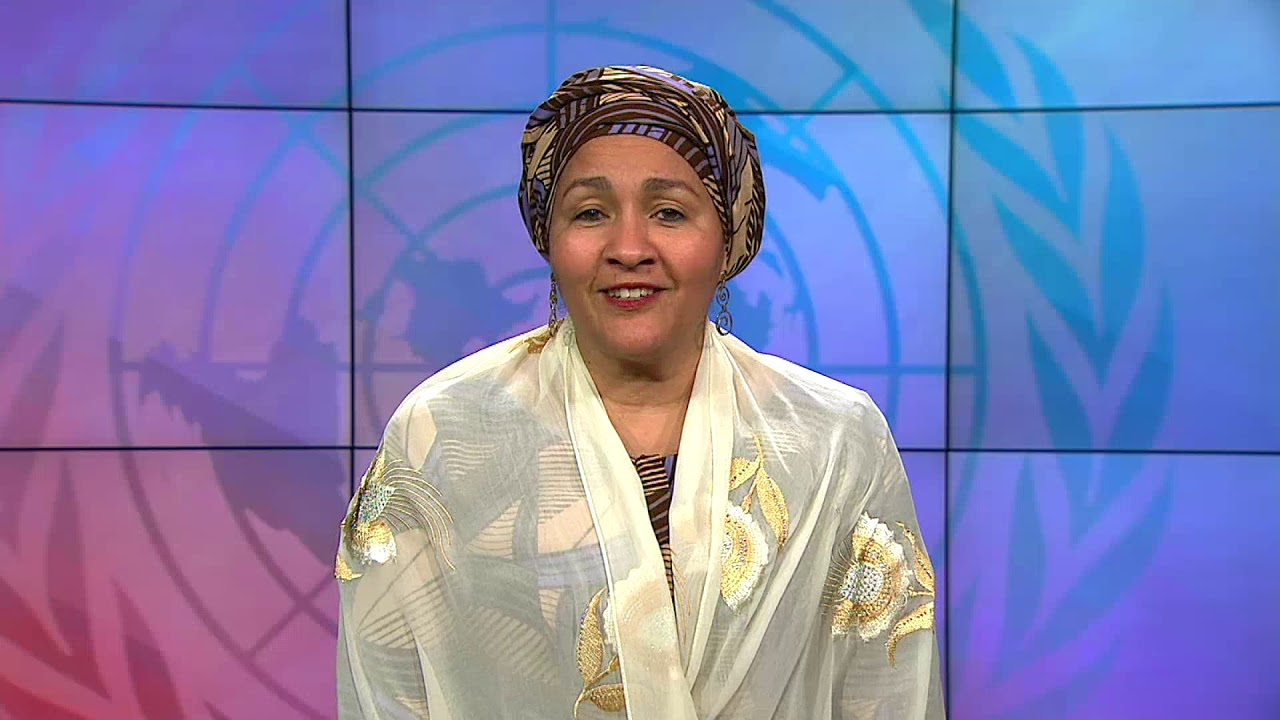 Video Message from UN Deputy Secretary General Amina J Mohammed