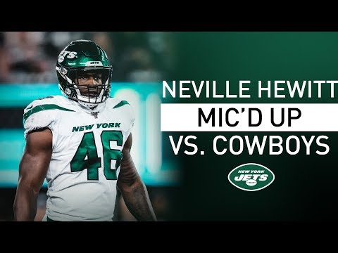 Neville Hewitt Mic'd Up Vs. Cowboys: