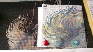 Приглашаю в гости :) болтовня, вышивка Риолис  1451 и Дим 35068 (подбор)