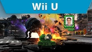 Wii U - Namco Bandai - Tank! Tank! Tank! E3 Trailer