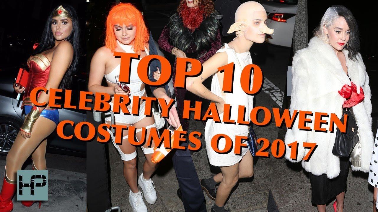 8d787d7ddcc TOP 10 Halloween Costumes of 2017 || Celebrity Edition - 2017 Halloween