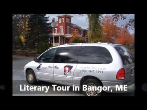 Literary Tour Bangor ME, SK Tours Of Maine, LLC