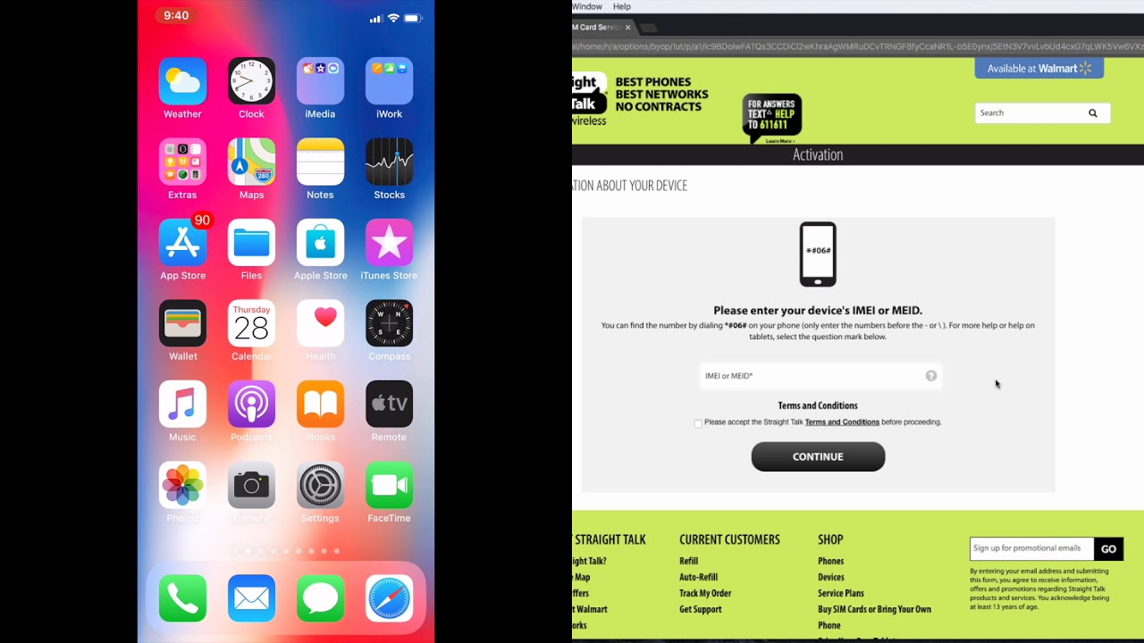 Checking If Your iPhone or Samsung Galaxy S Is Compatible With Straight  Talk's Verizon Network