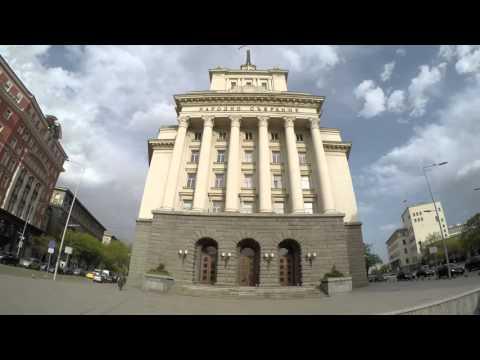 Sofia Bulgaria - timelapse citywalk 2016