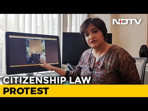 German Student Sent Away For Protesting Against CAA. NRC   NDTV Newsroom Live - YouTube