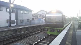 12/23 足利イルミネーションやまどり 富田駅発車