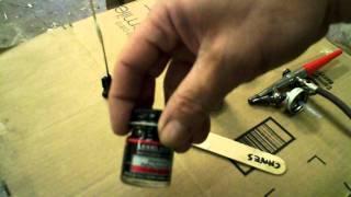 Airbrushing Metalizer Pt 1