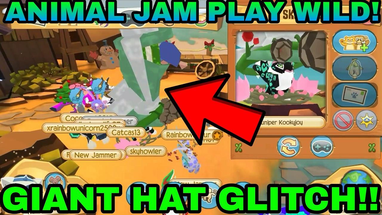 Image of: Glitch Animal Jam Play Wild Giant Hat Glitch Youtube Animal Jam Play Wild Giant Hat Glitch Youtube