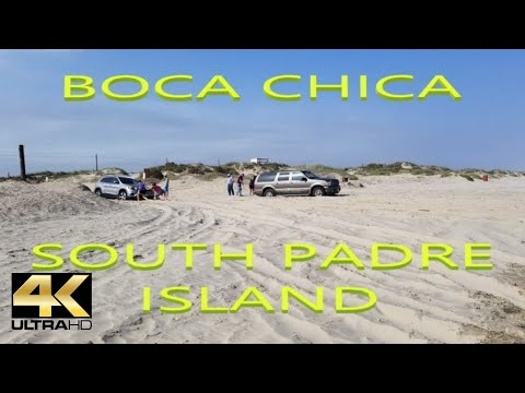 DRIVING ON THE BEACH, BOCA CHICA AND SOUTH PADRE ISLAND TEXAS