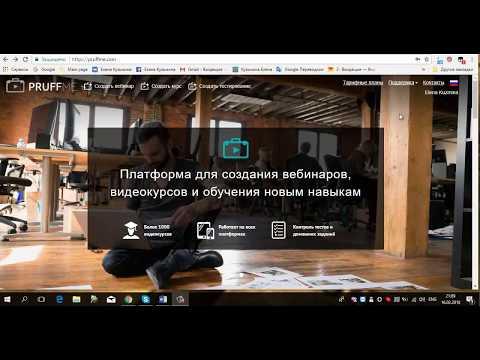 видео: pruffme для бизнеса