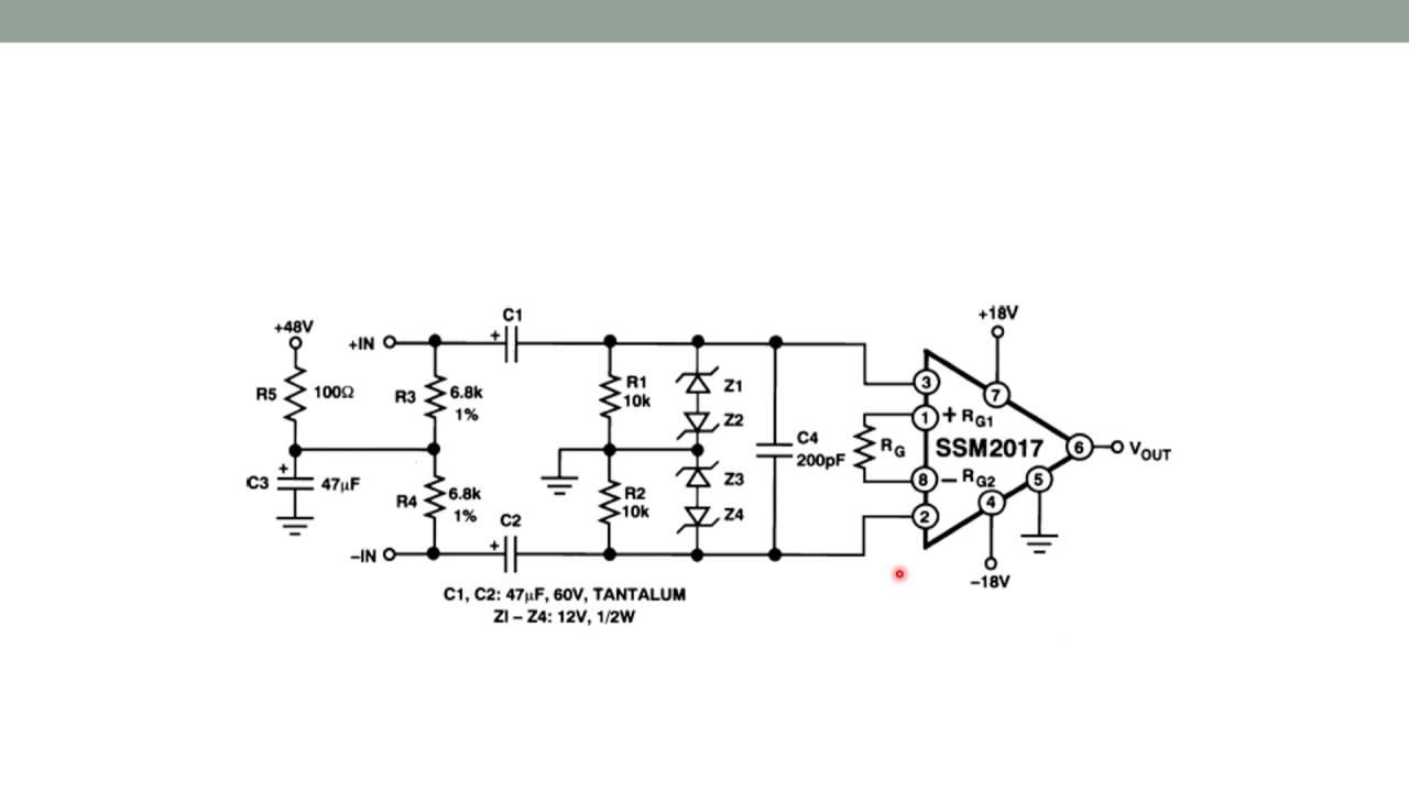 Mikrofonvorverstärker - Projekt Soundmixer / Mischpult im Eigenbau ...