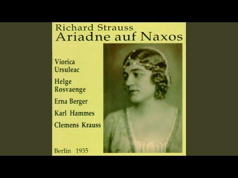 Bin Ich Ein Gott, Schuf Mich Ein Gott (Ariadne Auf Naxos)