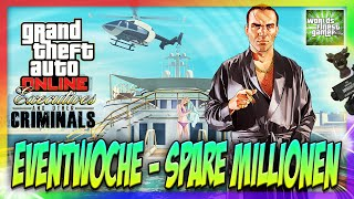 GTA 5 Online SPARE MILLIONEN GTA DOLLAR - EVENTWOCHE | 25% RABATT AUF AUTOS & MORE HD