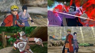Naruto Shippuden Gekito Ninja Taisen Special - All Team Ultimate Jutsu Ougi 1080p 60 FPS