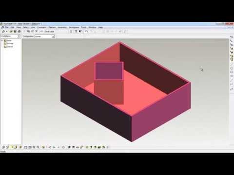 บทที่ 2 การเจาะรูวัตถุทรงตัน: Solid Objects ด้วยโปรแกรม ProDesktop (5/8)