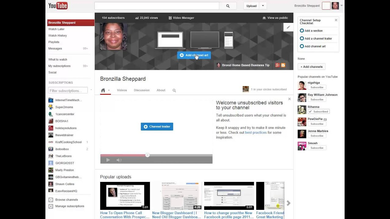 How To Rearrange Your YouTube Videos On The New YouTube ...
