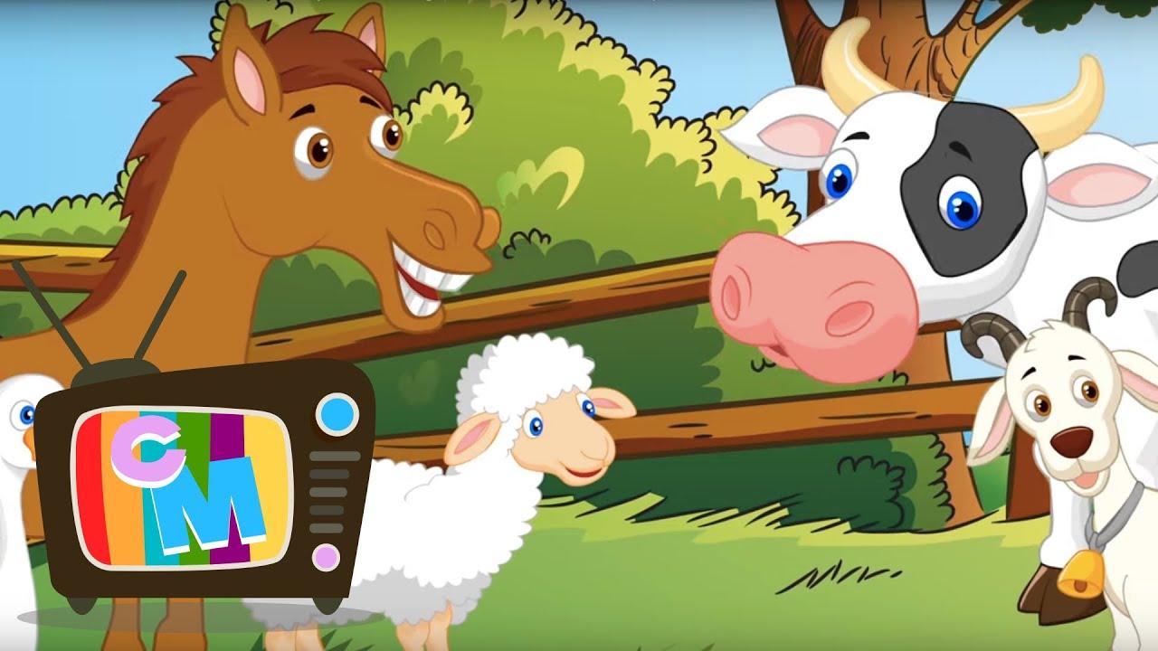 COLAJ - Sa invatam animalele - Clopotelul Magic - cantece pentru copii