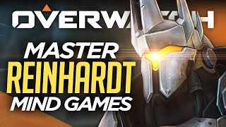 How to OUTPLAY Enemy Reinhardt (EASY) - Overwatch Advanced Guide