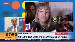 Ministro Santelices descarta vínculo entre informe Onusida y renuncia de jefa de VIH del Minsal