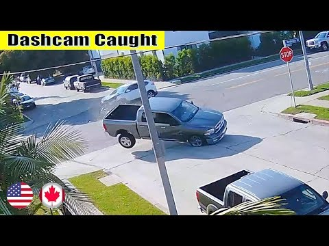 Ultimate North American Cars Driving Fails Compilation - 64 [Dash Cam Caught Video]