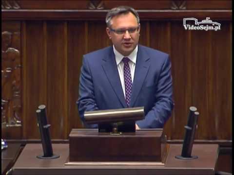 Mirosław Suchoń – wystąpienie z 8 czerwca 2017 r.