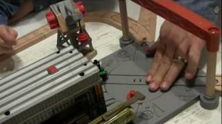 Percy At The Dieselworks Wooden Train Set - Video Review - The Toy Spy