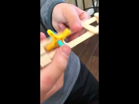 DIY How To MAKE a kids Easy Rubber Band Gun/ Shooter craft