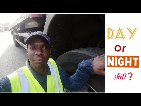 Should I Do Day Shift Or Night Shift In A HGV? - Featuring Raymond Rushabiro.