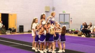 Mini Allstars Cheer routine level 1