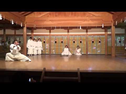 日本刀(真剣)  奈良天河神社奉納剣舞 2014年11月9日
