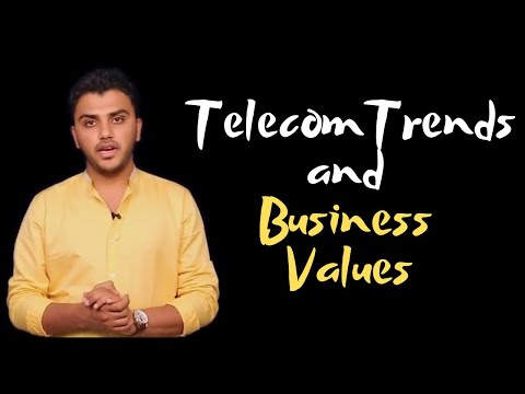 CA IPCC IT: Lecture 2: Telecommunication Trends & Business Values
