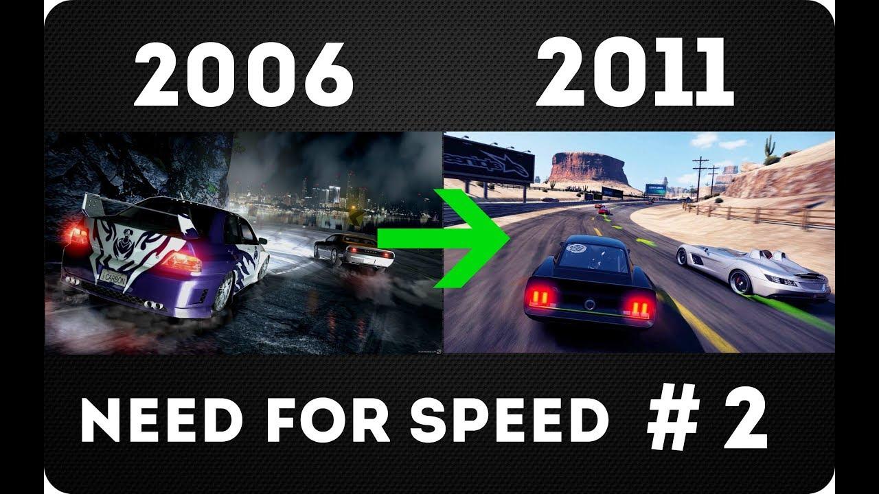 Эволюция серии игр Need For Speed #2