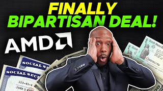 FINALLY BIPARTISAN DEAL! $2000 4th Stimulus Check Update + AMD Stock + Earned Income Tax Credit