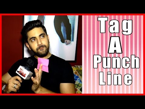 Tag A Punch Line With Zain Imam | Tellybytes