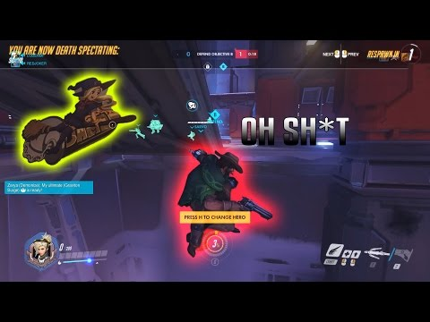 Overwatch Pro Plays And Funny Moments #2