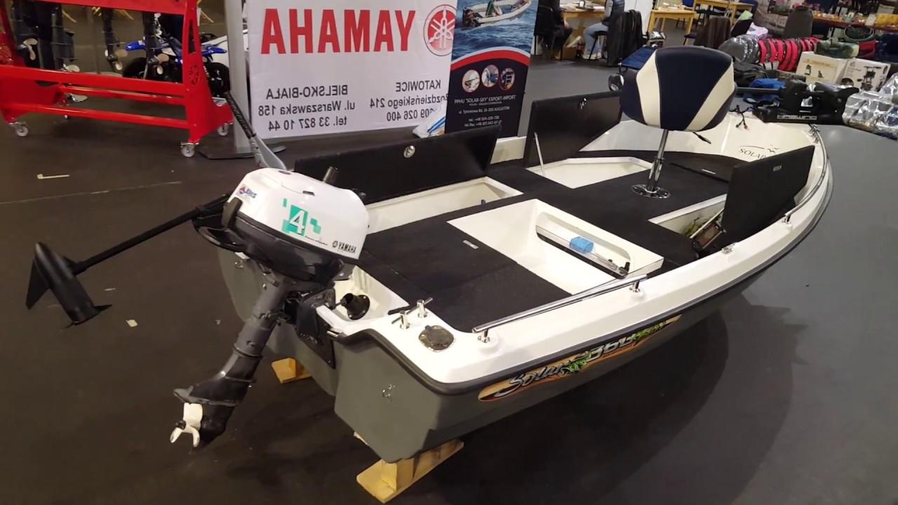 Mały Pokaz Naszych łodzi Solar 360 Fish Solar450 Congo Solar 360